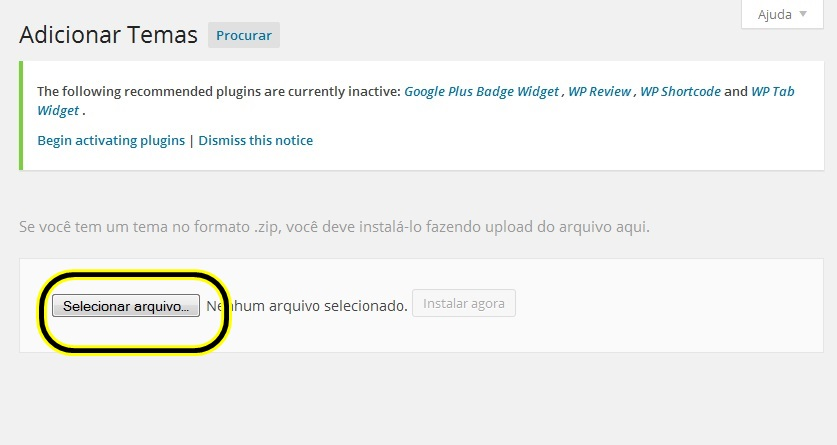 como instalar temas wordpress 5