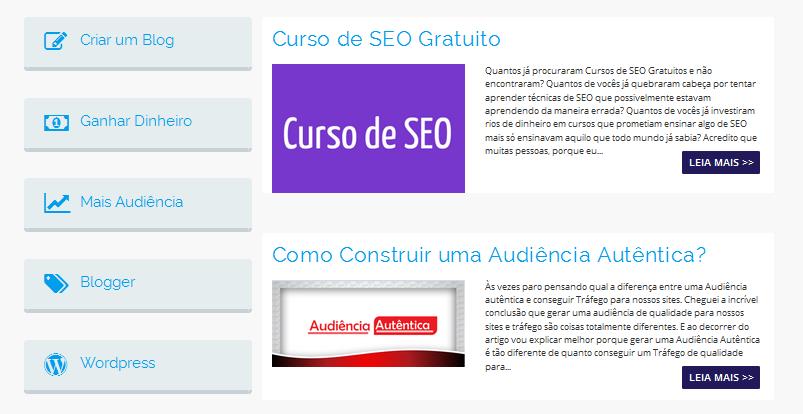Como Otimizar As Categorias do Seu Blog- SEO