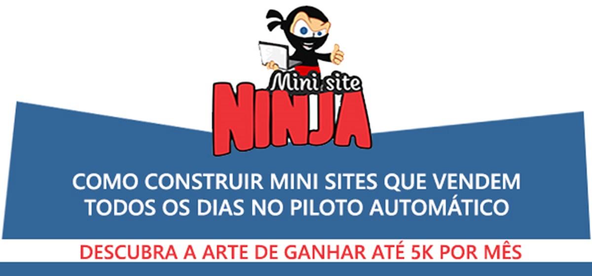 Curso Mini Site Ninja